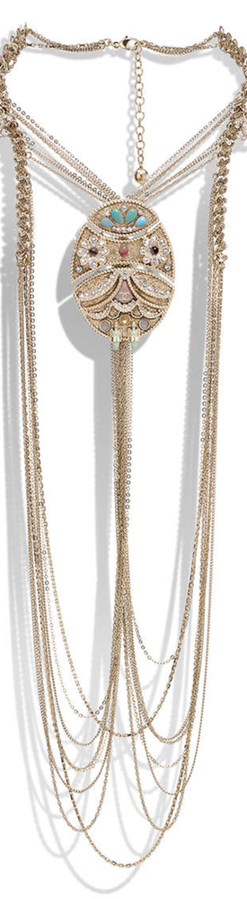 CHANEL CRUISE 2017/2018 NECKLACES