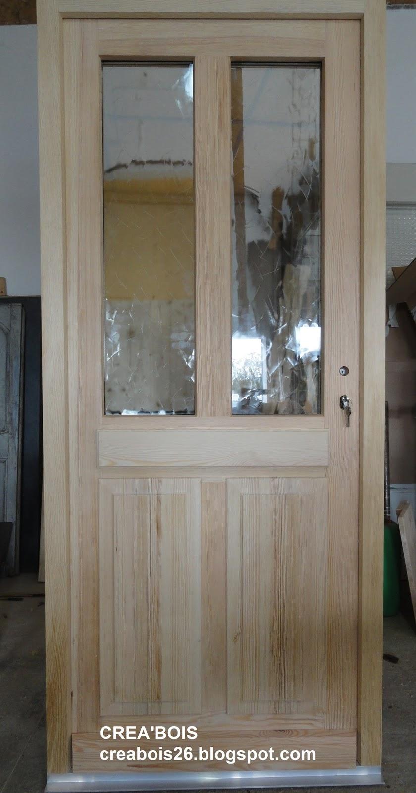 crea 39 bois portes d 39 entr e. Black Bedroom Furniture Sets. Home Design Ideas
