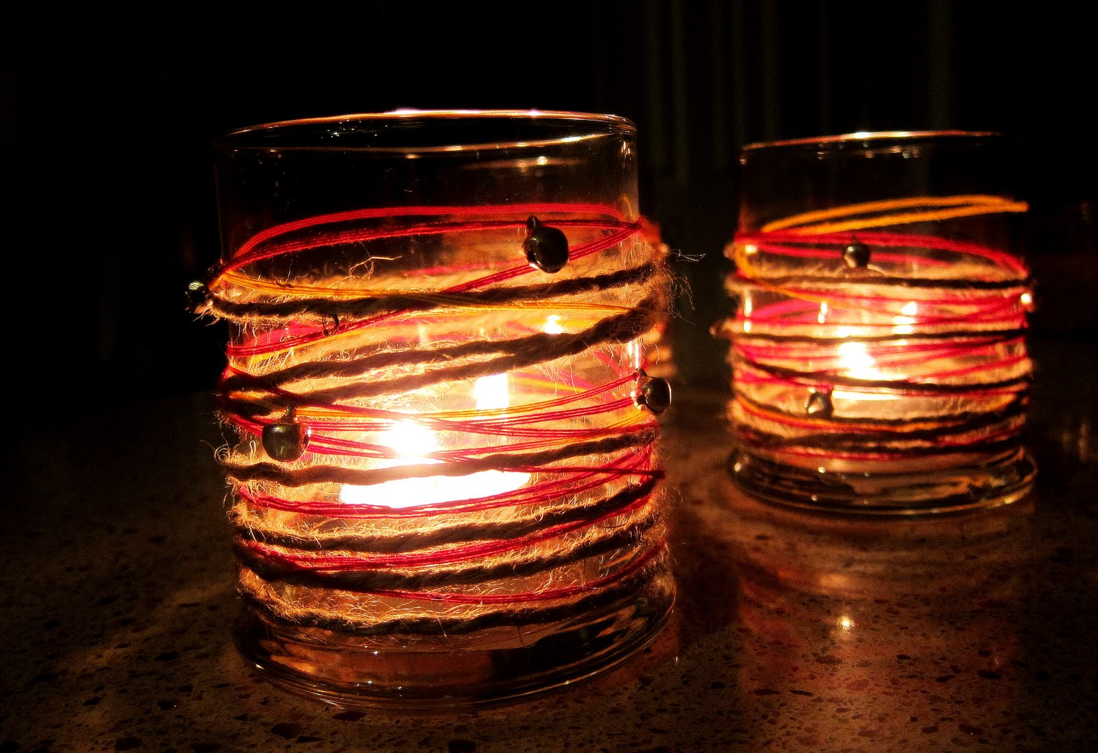 All things beautiful....: Decorating with Candles