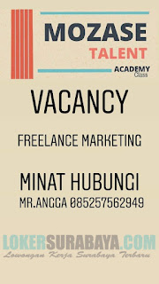 Loker Surabaya di MOZASE TALENT ACADEMY April 2019