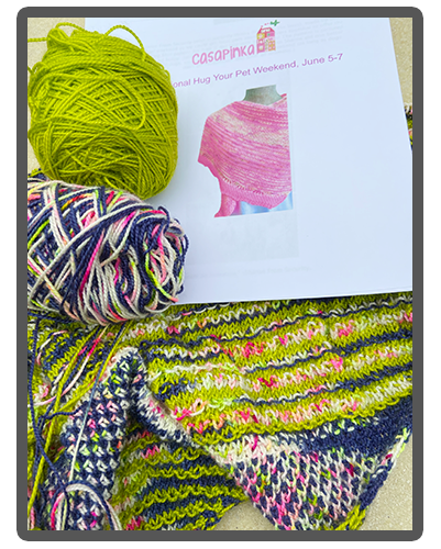 Hug Shot Shawl - Casapinka Pattern Giveaway - Free pattern with appropriate yarn purchase
