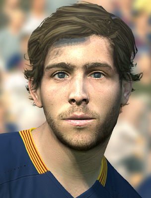 [PES2016] Sergi Roberto Face By DzGeNiO