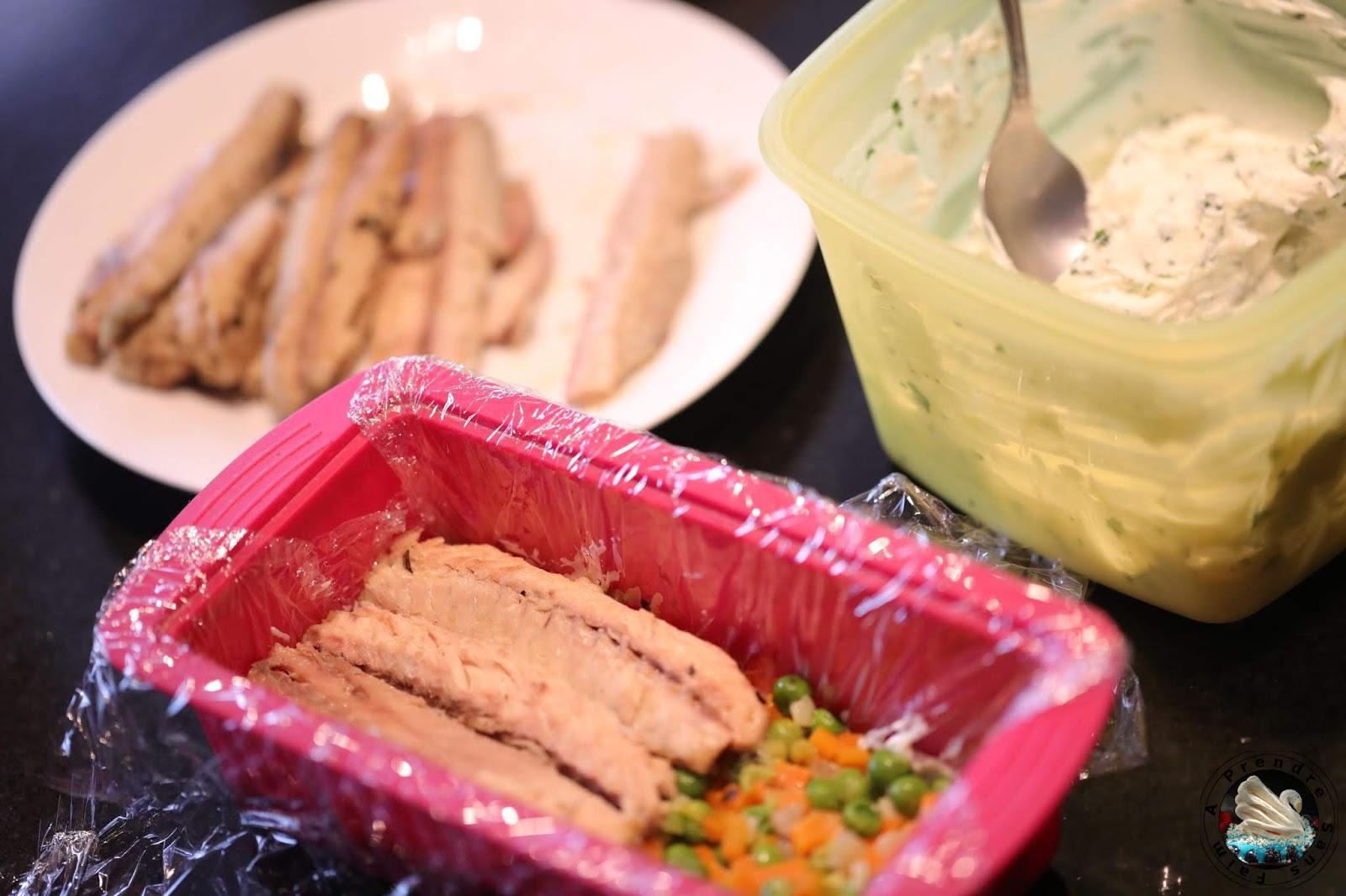 Terrine de maquereaux aux légumes
