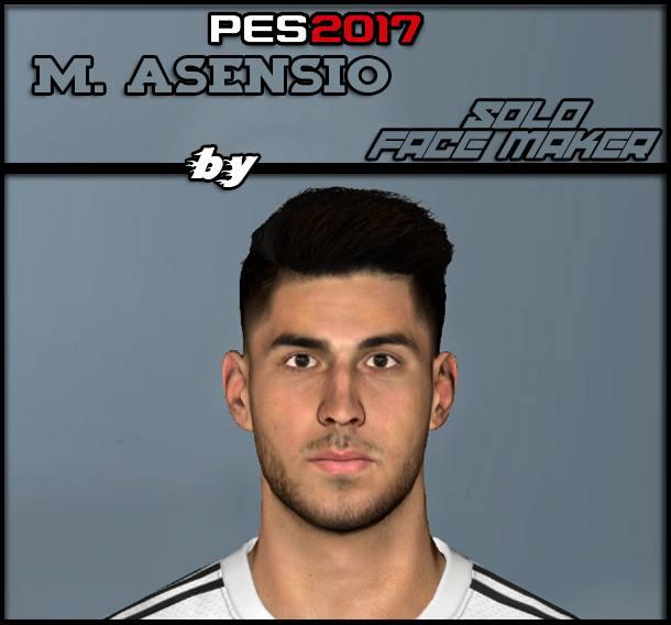 PES 2017 M. Asensio face