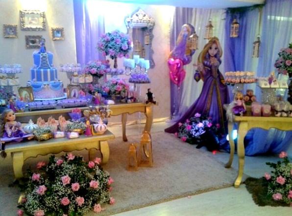 Decoracion Rapunzel Fiesta ~ 101 fiestas Fiesta tem?tica Enredados