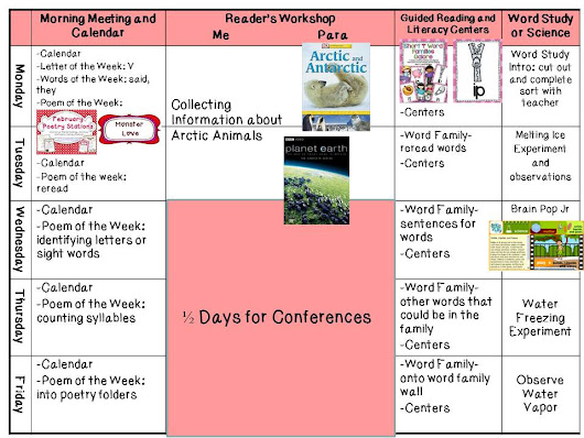 Peek at my Week: Valentines and Conferences