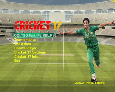 EA Sports Cricket 17 PC Game Torrent