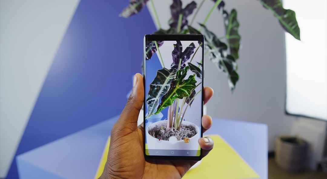 The Samsung Galaxy Note 9 AI Powered Cameras