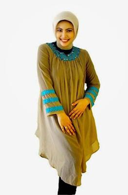 Model Baju Muslim Untuk Orang Gemuk 5