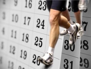 Calendario Running.Der Scott 2012 Running Stupidity Race Calendar