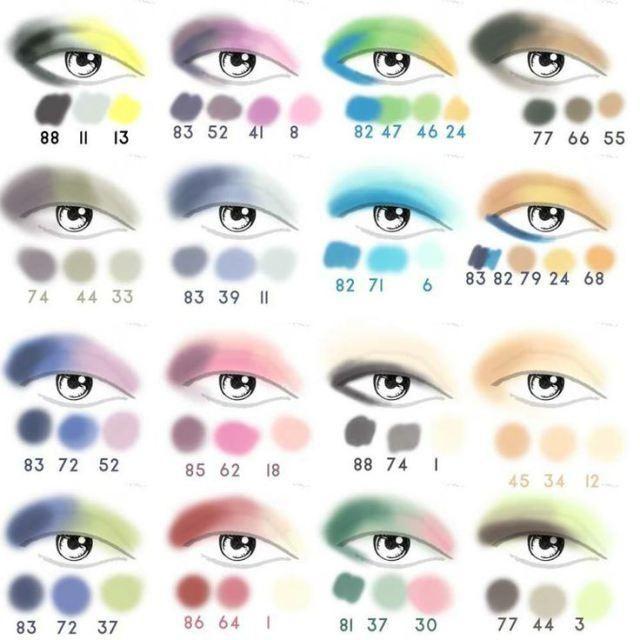 Sombras para tu Color de Ojos