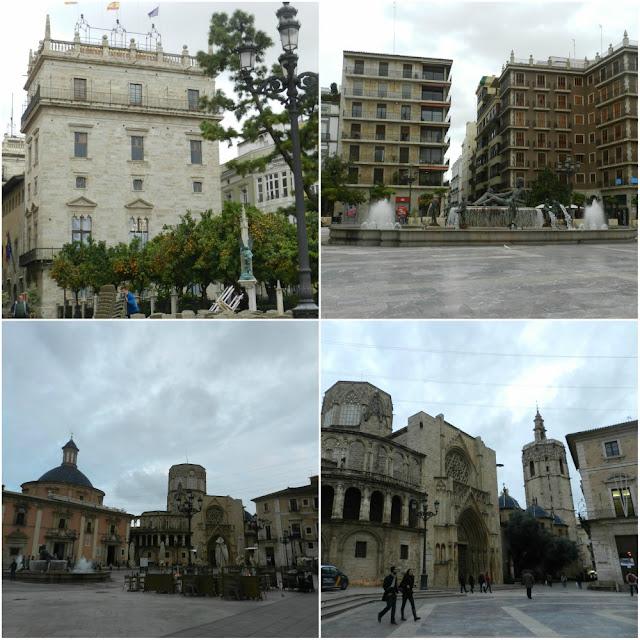 Valência (Espanha) em 5 praças! Plaza de la Virgen