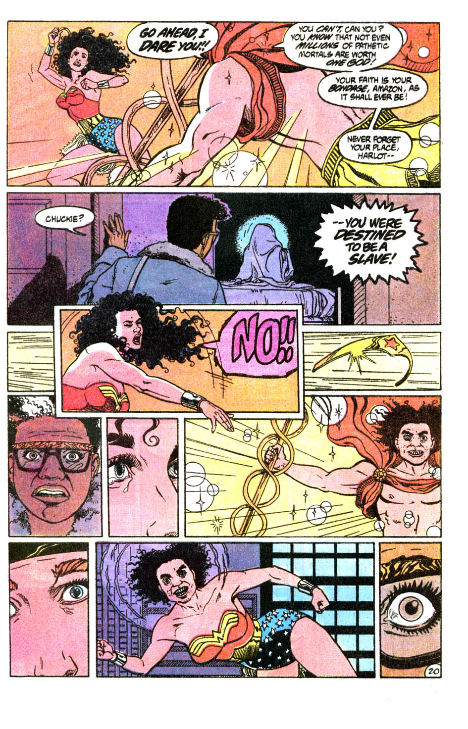 Read online Wonder Woman (1987) comic -  Issue #54 - 21