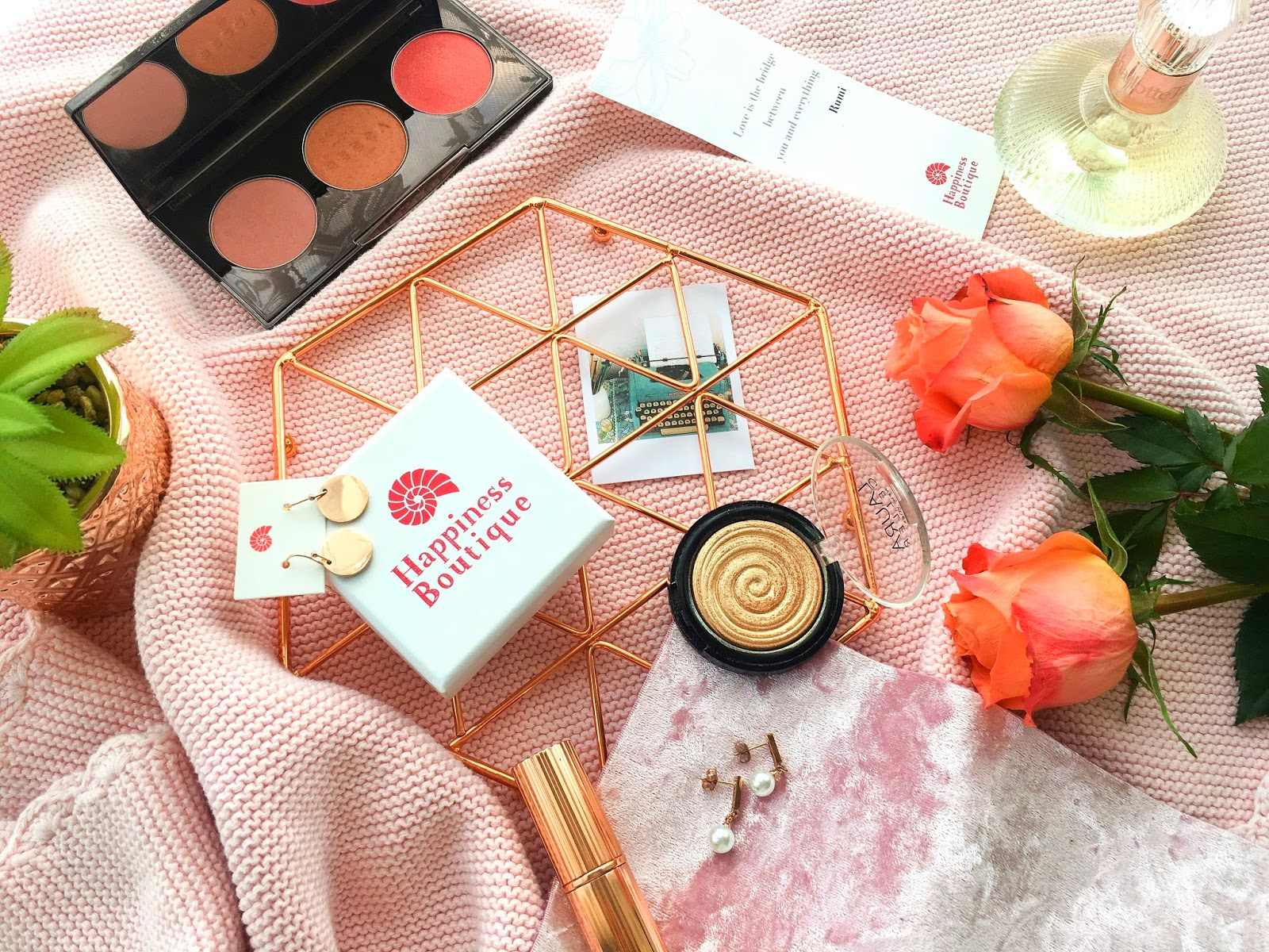 happiness boutique review, happiness boutique rose gold earrings review, happiness boutique review