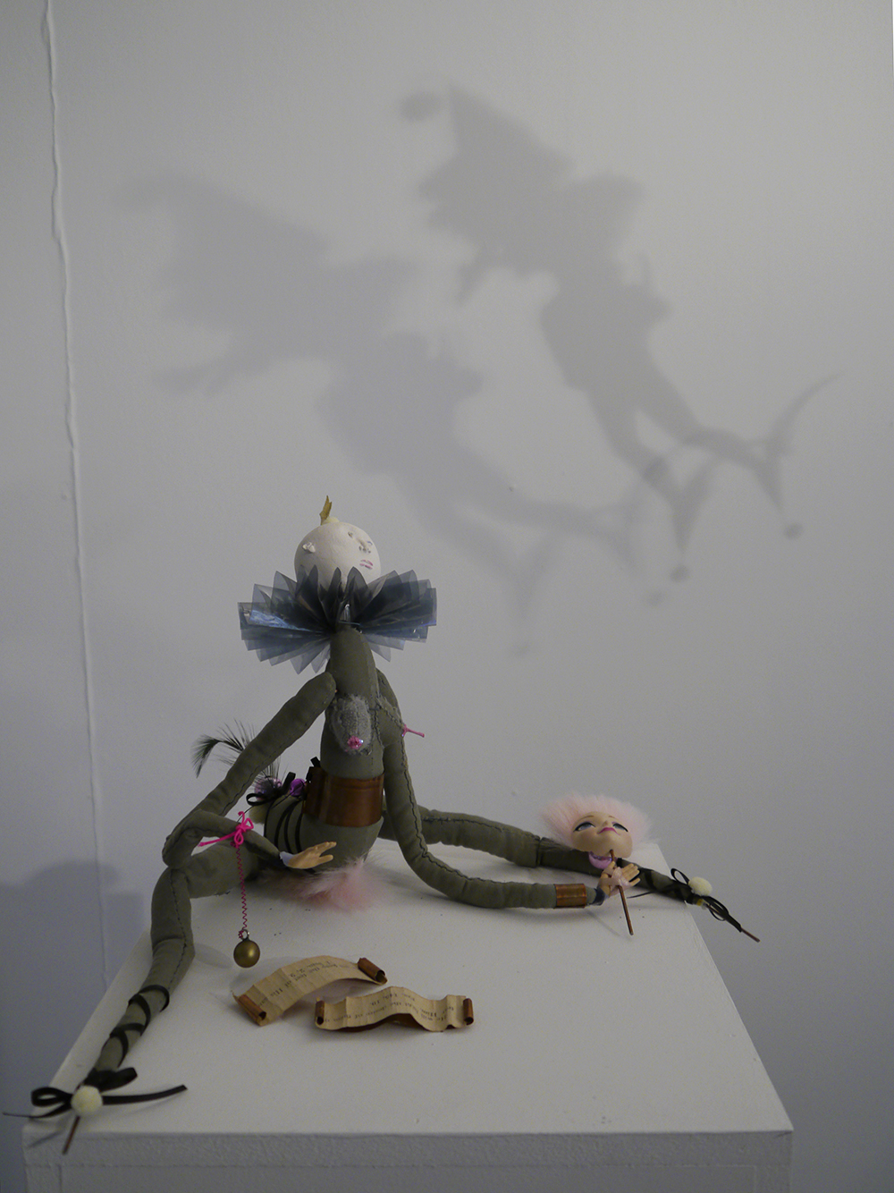 edinburgh college of art, masters degree show 2016, young artist Scotland, contemporary scottish art, ECA, Edinburgh Collage of art, doll, weird doll, 3d art