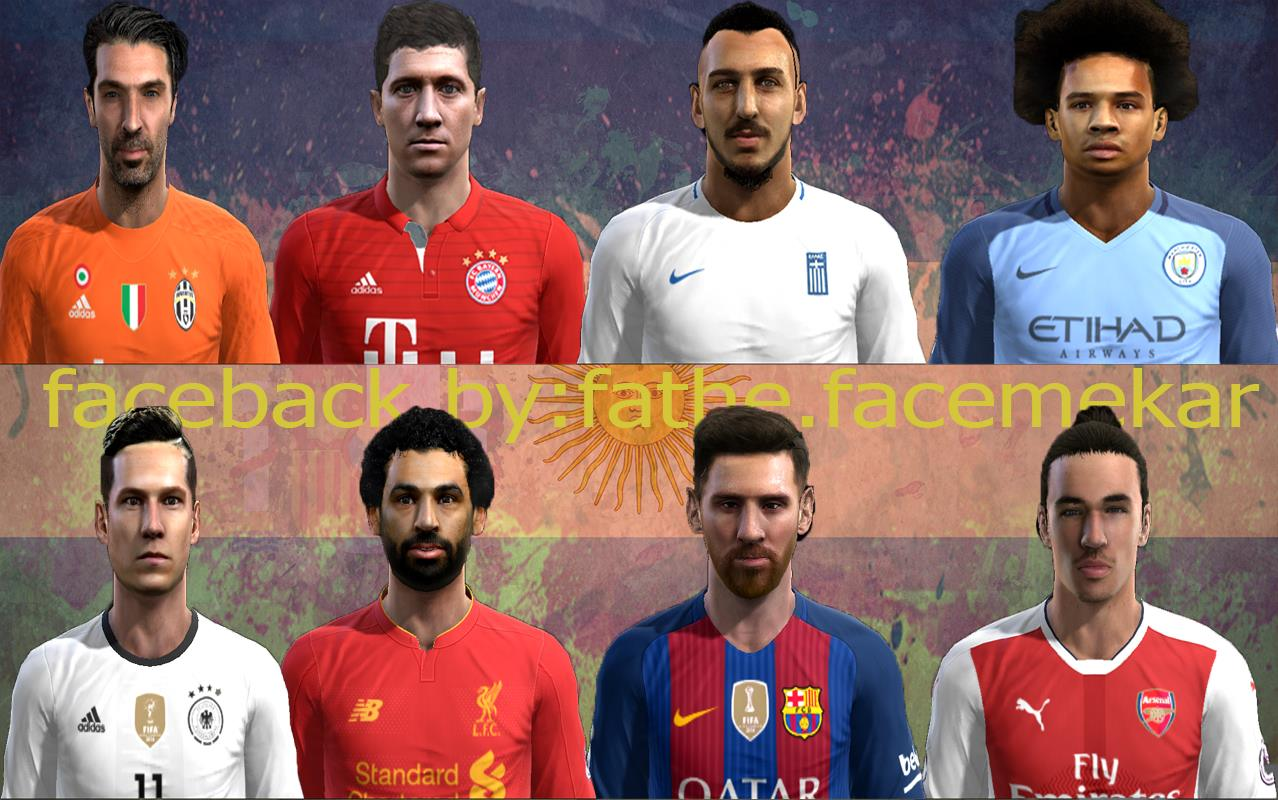 Pes 2013 Facepack 2017 by fathy.face maker