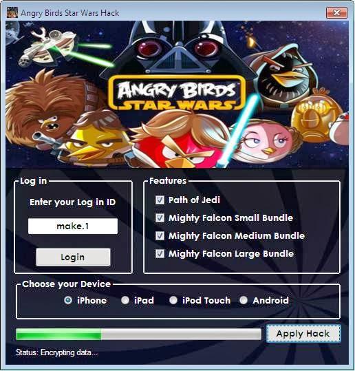 cheat angry birds star wars 2