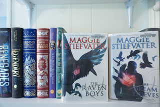 The Raven Boys and The Dream Thieves by Maggie Stiefvater