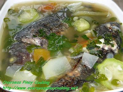Dinengdeng with Inihaw na Tilapia
