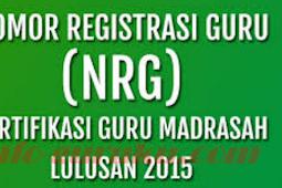 SK tentang Pembayaran TPK Pemilik NRG Tahun 2015 akan dibayarkan mulai