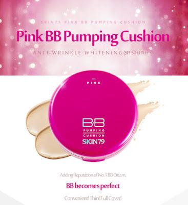 Skin79 Pink BB Pumping Cushion