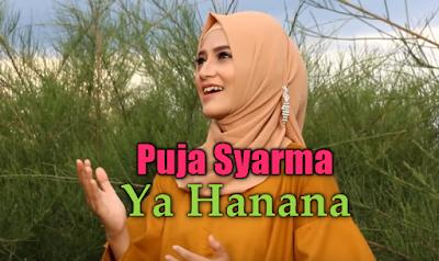 Download Lagu Puja Syarma Ya Hanana Mp3 Single Religi Terbaru 2018,Puja Syarma, Lagu Religi, Lagu Cover, 2018