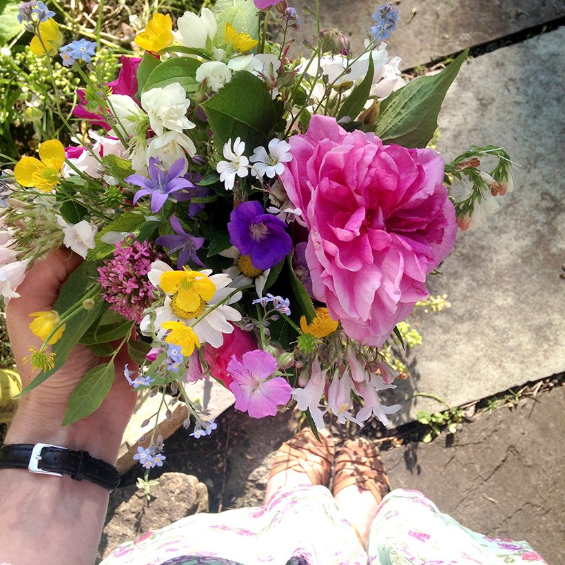 Gardening jobs for June by Adventures & Tea Parties on the Simple Stylish Makes blog