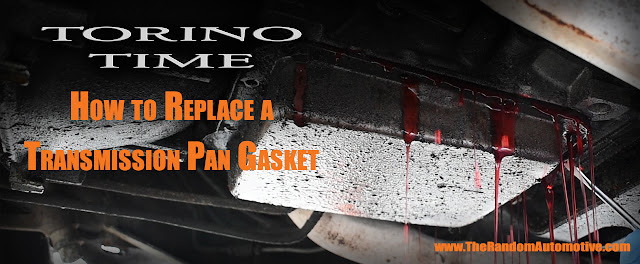 how to replace a transmission pan gasket ford torino 500 1971 torino time diy c4