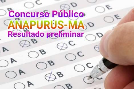 Resultado Concurso Público Anapurus-MA