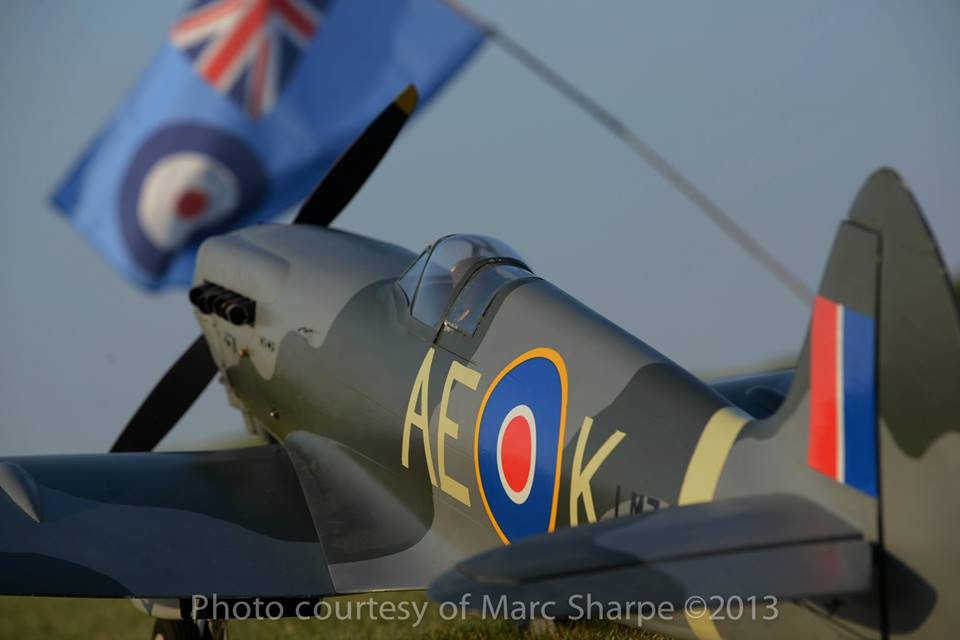 Warbird Notes and Stories : Yellow Aircraft Spitfire