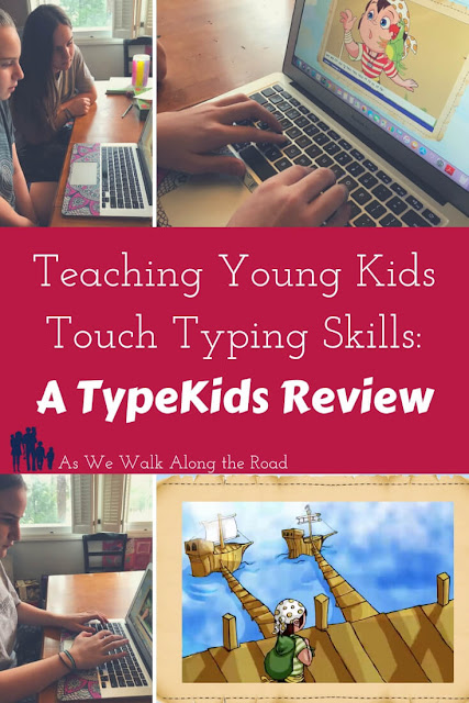 Teach young kids touch typing skills with TypeKids.