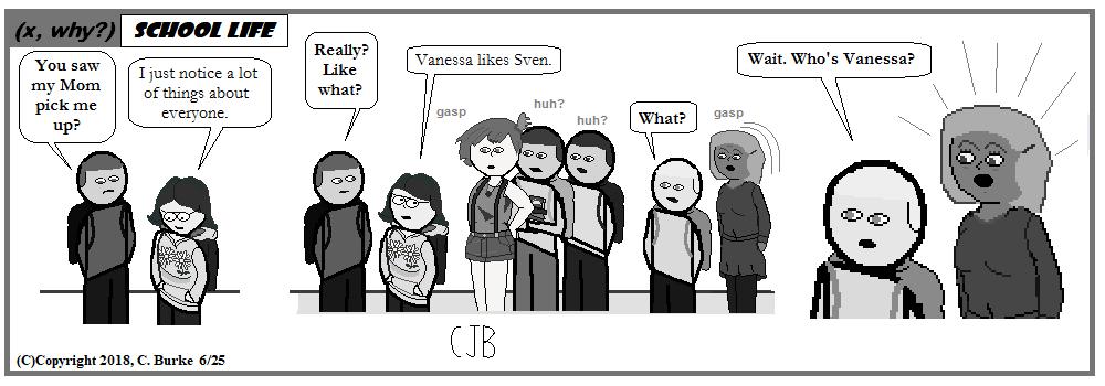 (x, why?): (x, why?) School Life #4