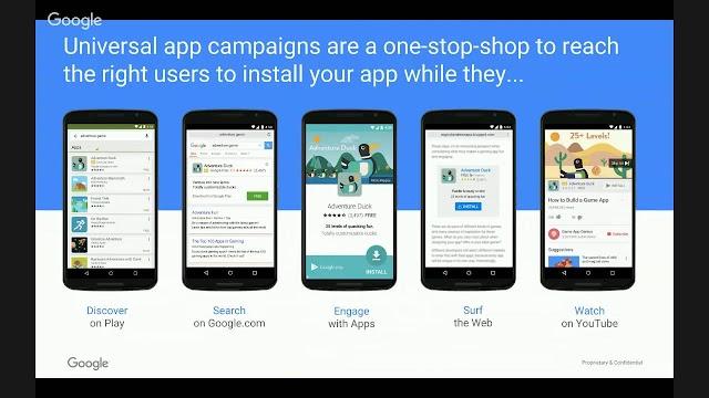 Adwords universal app campaign