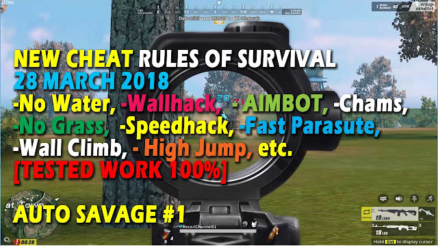 Cheat Rules of Survival Treonin 5.0 Update 28 Maret 2018