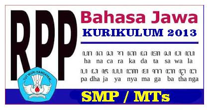DOWNLOAD RPP SILABUS BAHASA JAWA SMP/MTs KURIKULUM 2013