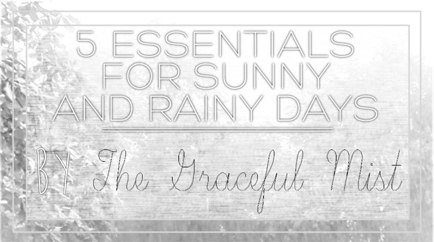 5 Essentials for Sunny and Rainy Days - Article by @TheGracefulMist - www.TheGracefulMist.com - Philippines - Filipino - Filipina - Teenager - Blogger - Freelance Writer - Top Blogs in the Philippines - Beauty, Books, Fashion, Life, Style, Lifestyle and Travel - Online Shopping - Yoins.com - www.Yoins.com