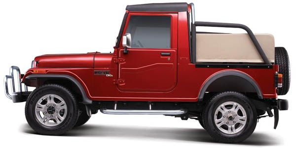 Mahindra Thar side view HD Pics