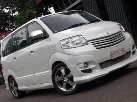 Modifikasi Terbaru Modifikasi Mobil Suzuki APV Dengan
