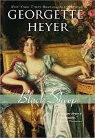 Cover of Black Sheep by Georgette Heyer