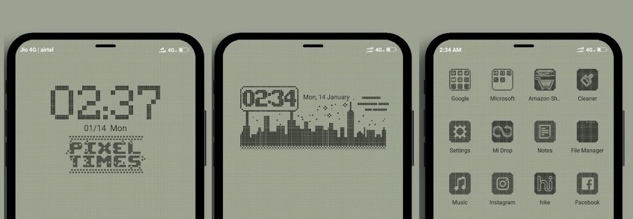 8Bits V10 MIUI Theme Download For Xiaomi Mobile
