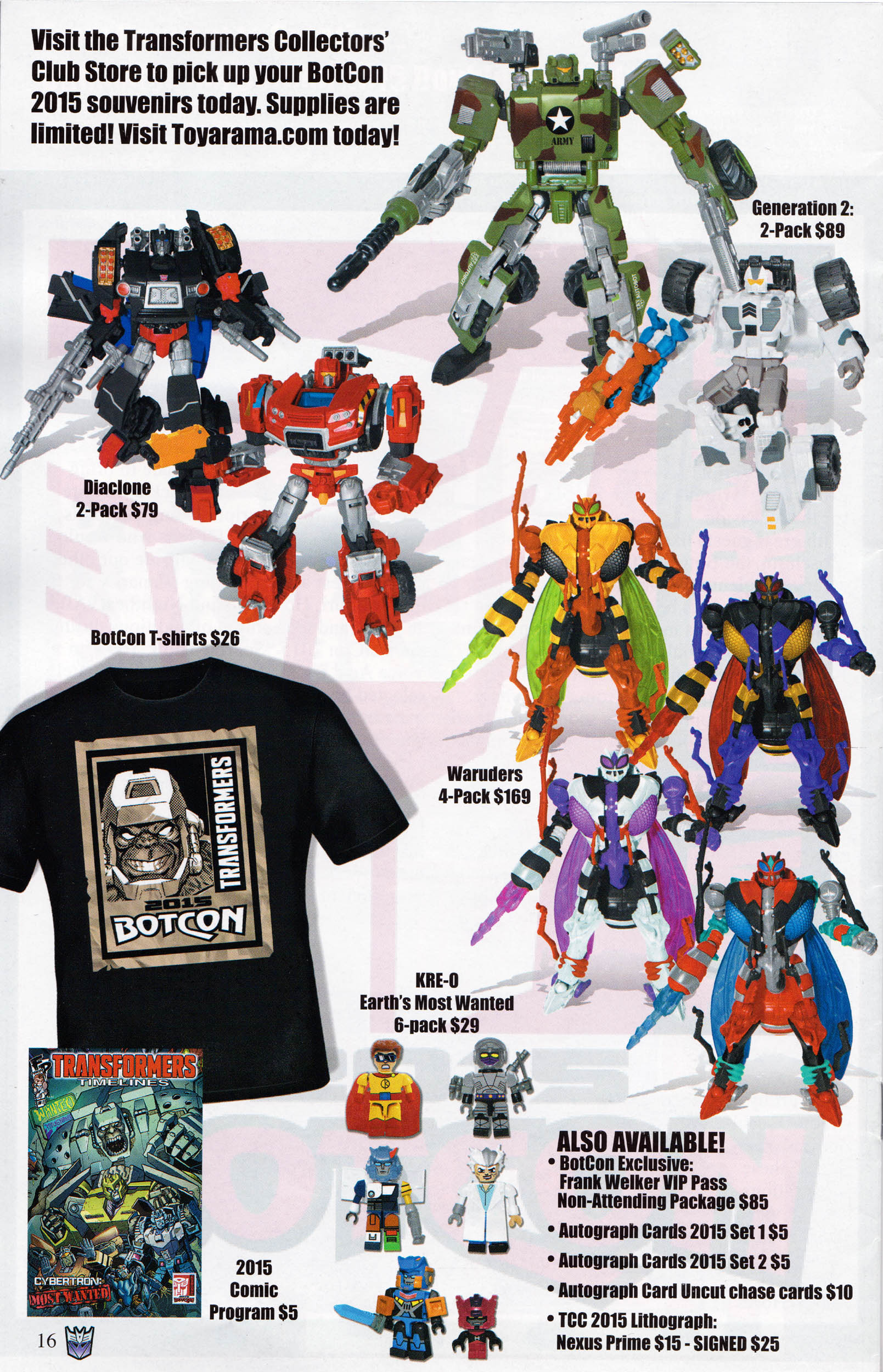 Read online Transformers: Collectors' Club comic -  Issue #64 - 16