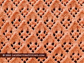 #34 Lace Diamonds