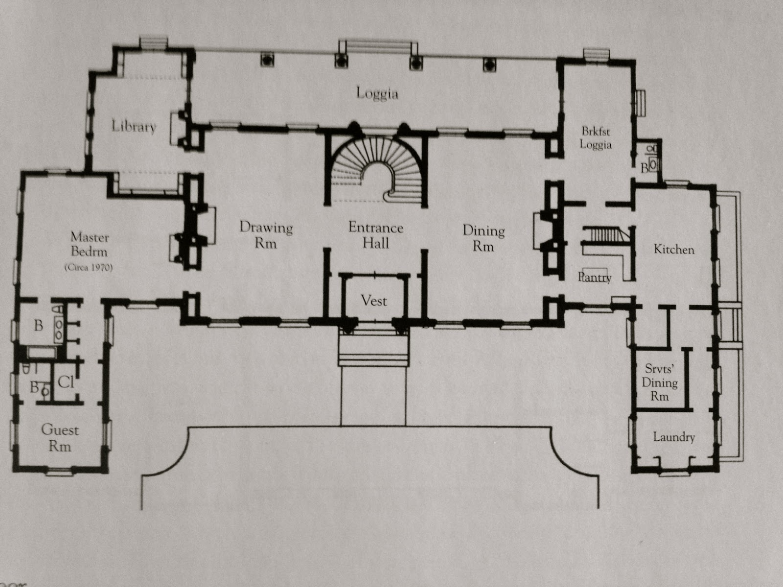 The gilded age era clarendon court poor sunny 39 s newport for Mansions floor plans