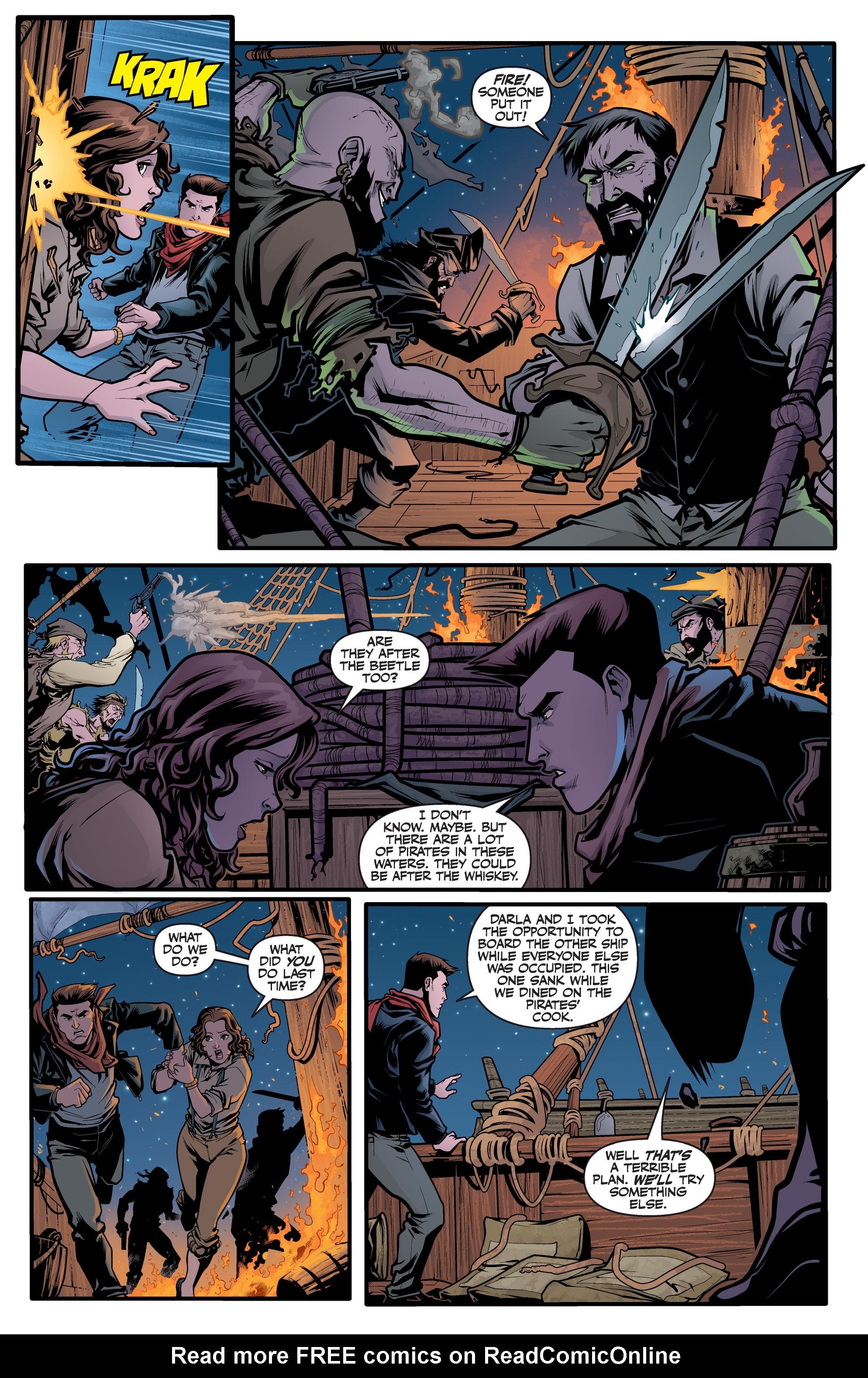 Read online Angel Season 11 comic -  Issue #6 - 18