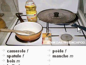 La cuisine     المطبخ