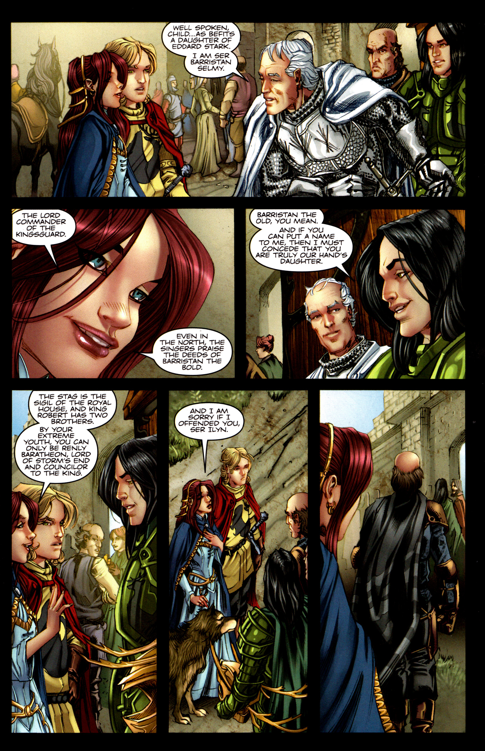Read online A Game Of Thrones comic -  Issue #5 - 7