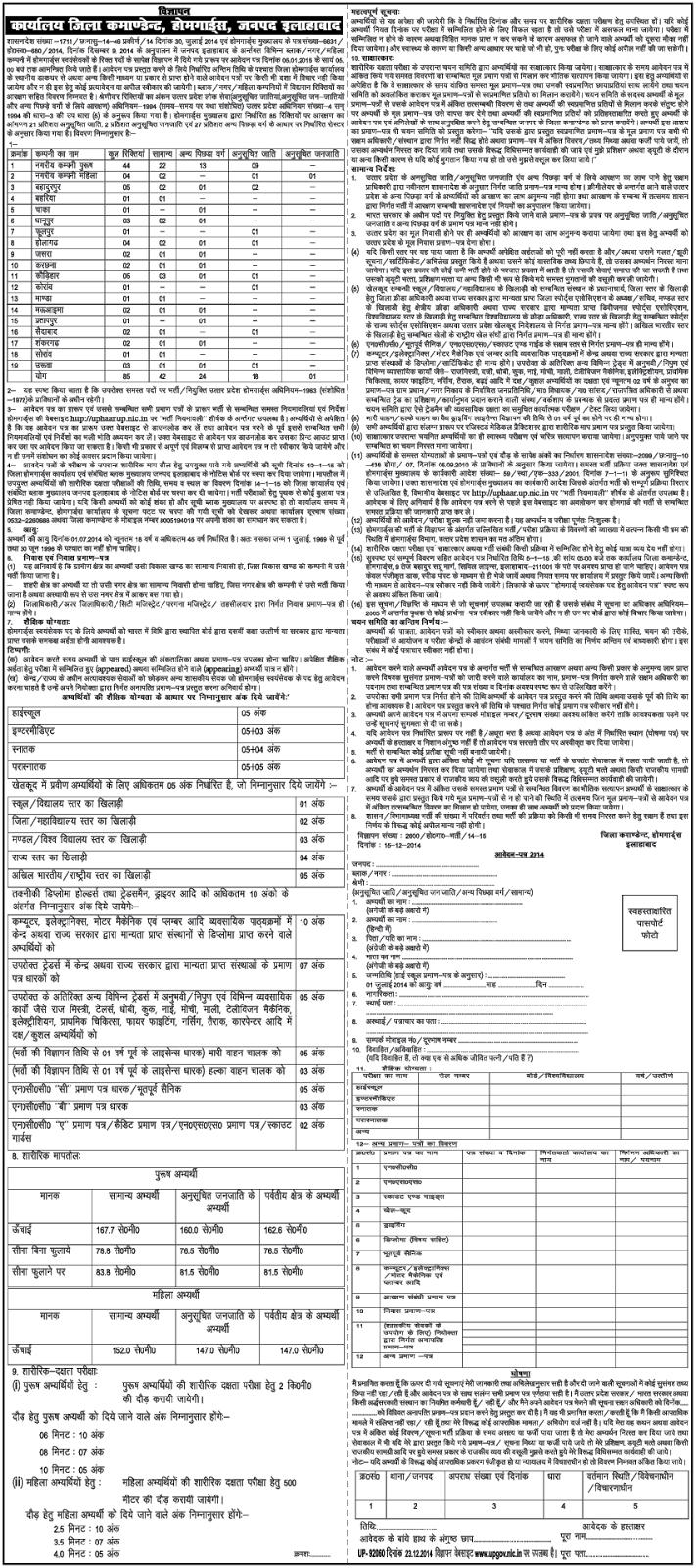 19000 Up Home Guard Recruitment Notification 2020 News