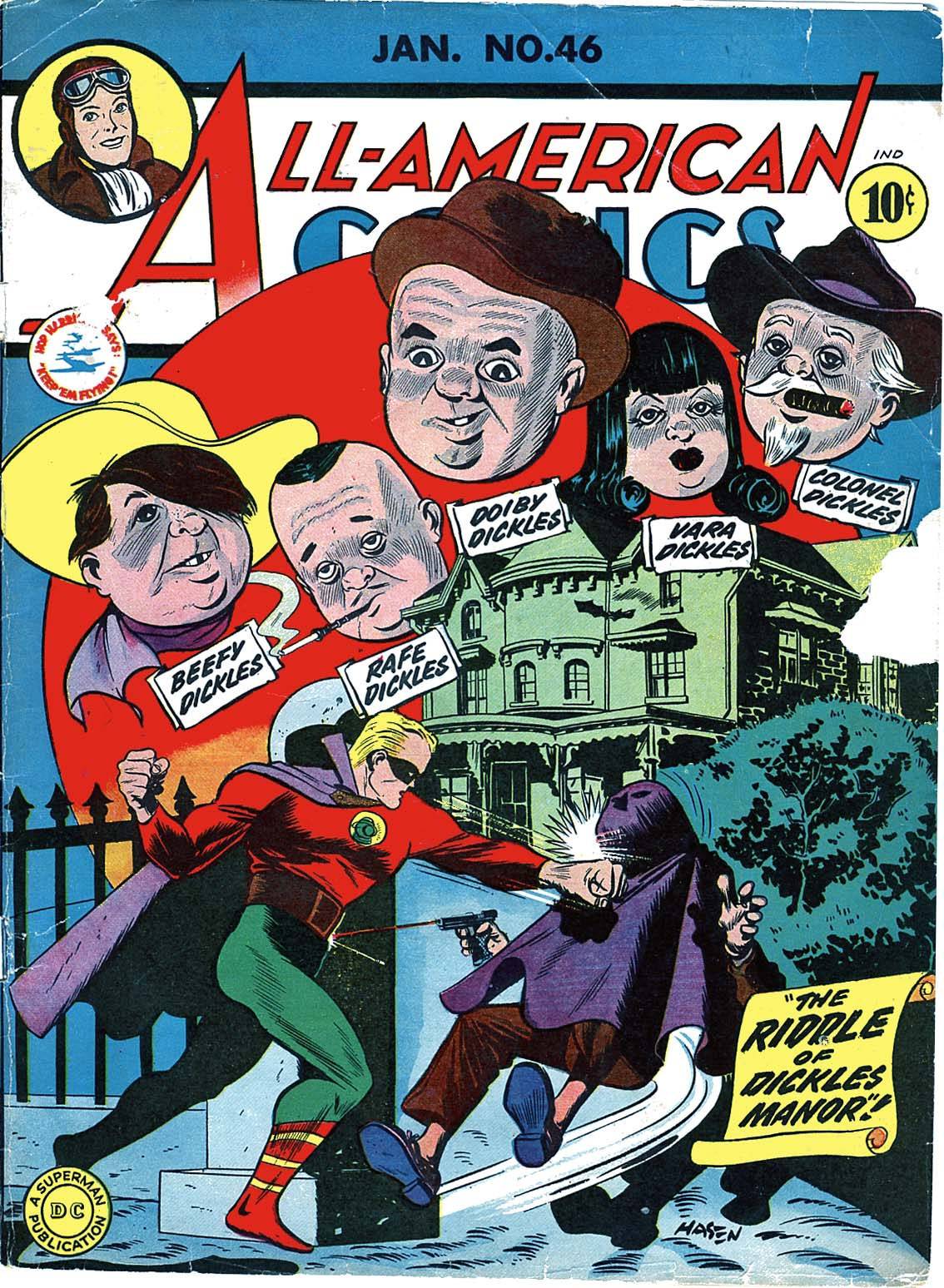 Read online All-American Comics (1939) comic -  Issue #46 - 1
