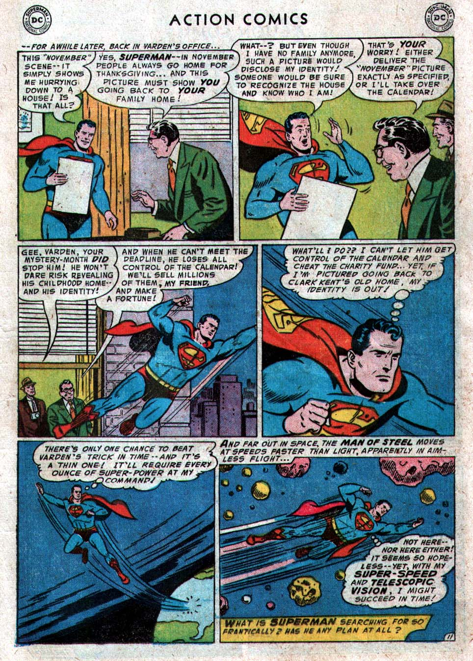 Read online Action Comics (1938) comic -  Issue #212 - 13