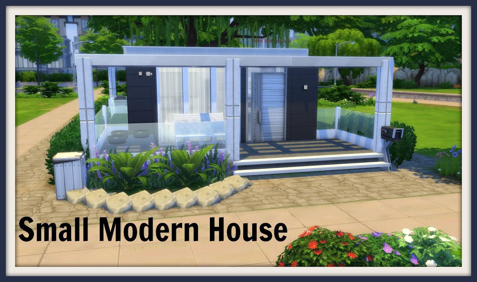 Sims 4 - Small Modern House - Dinha